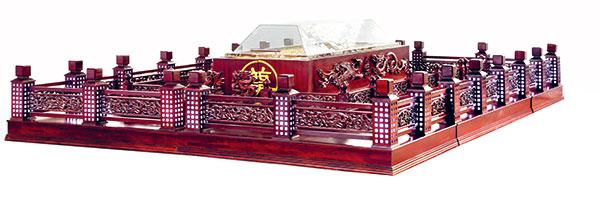 BLG-SD 实木告别棺