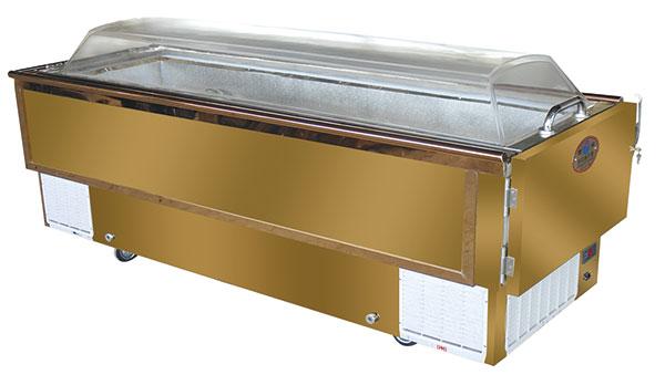 不锈钢瞻仰棺